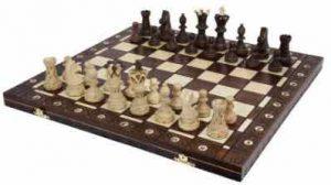 Ambassador Handmade Wooden Chess Set