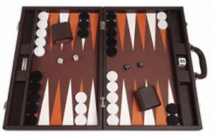 19-inch Premium Backgammon Set