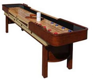 Hathaway Merlot 9 ft. Shuffleboard Table