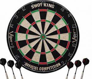 Viper Shot King Sisal/Bristle Steel Tip Dartboard