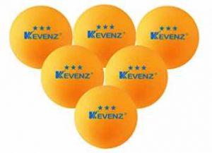 50-Pack Orang KEVENZ 3-Star 40mm Table Tennis Balls