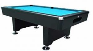 Playcraft Black Knight 8' Pool Table Style