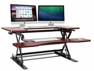 Halter ED-258 Preassembled Height Adjustable Desk Sit / Stand Desk