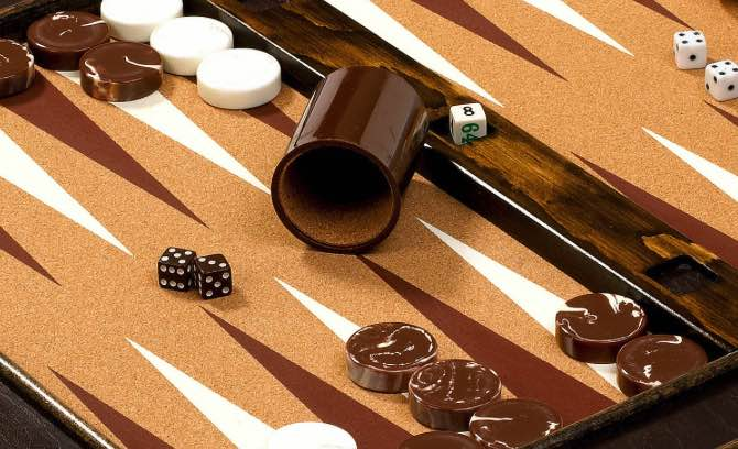 Top 6 Backgammon set