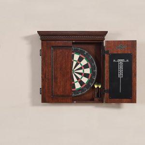 american heritage cavalier dartboard cabinet closed
