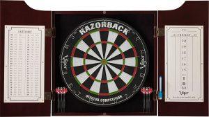 viper hudson bristle dartboard cabinet